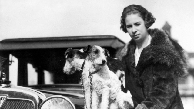 Die Rennfahrerin Clärenore Söderström-Stinnes im Jahr 1927