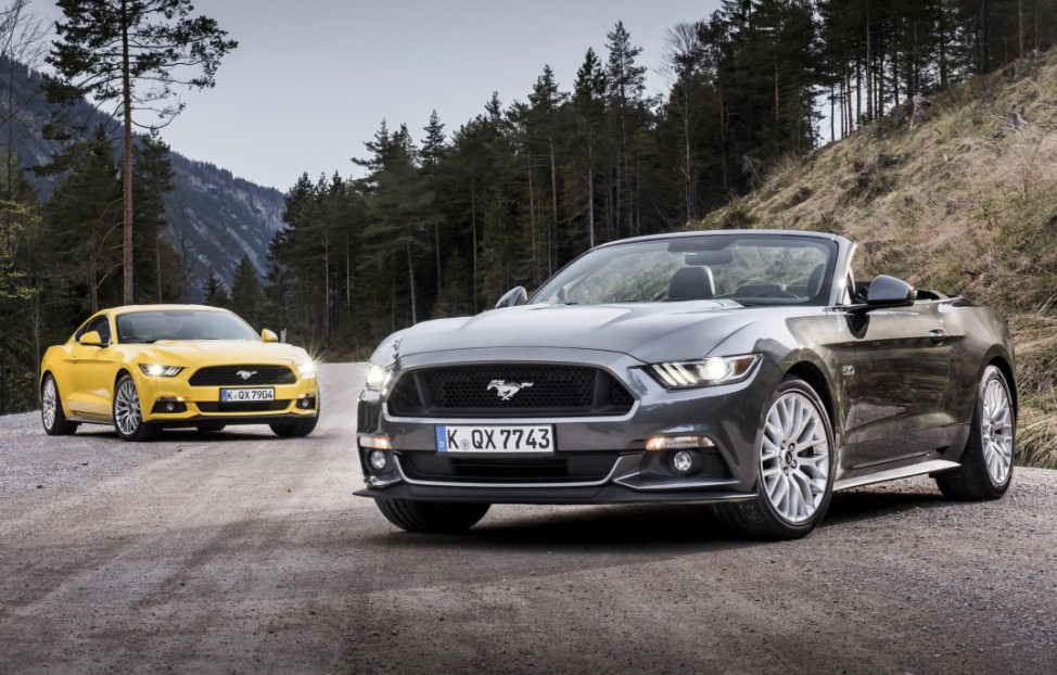 Ford Mustang GT Cabrio und Coupé