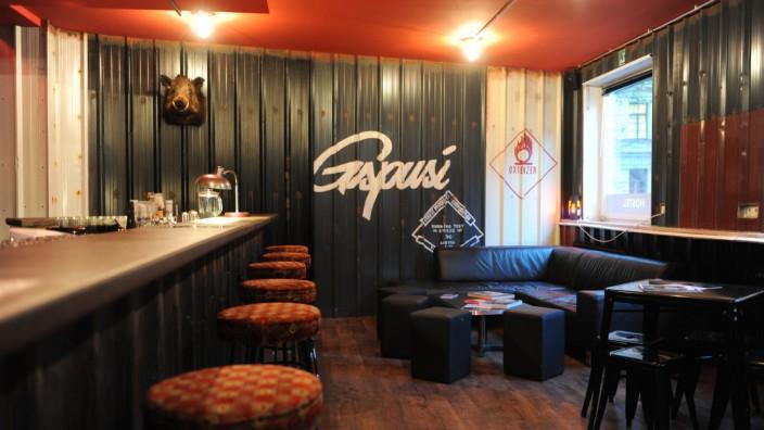 Neue Bar: Momentan ist die Gspusi-Bar nur für Gäste des Hostels geöffnet. Bald aber sollen auch Münchner hier feiern dürfen.