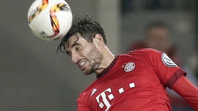 Javi Martínez beim FC Bayern: Javi Martínez auf der Höhe - hier im DFB-Pokal im Oktober gegen Wolfsburg.