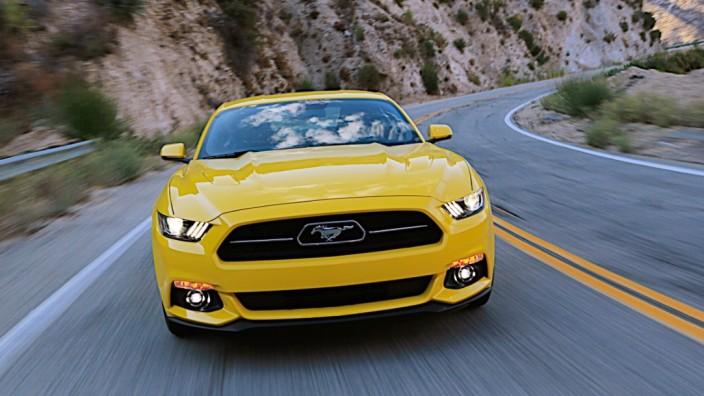 Ford Mustang GT im Test: Seit Sommer gibt es den Ford Mustang auch in Deutschland.