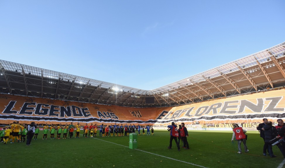 Dynamo Dresden v 1. FC Magdeburg  - 3. Liga