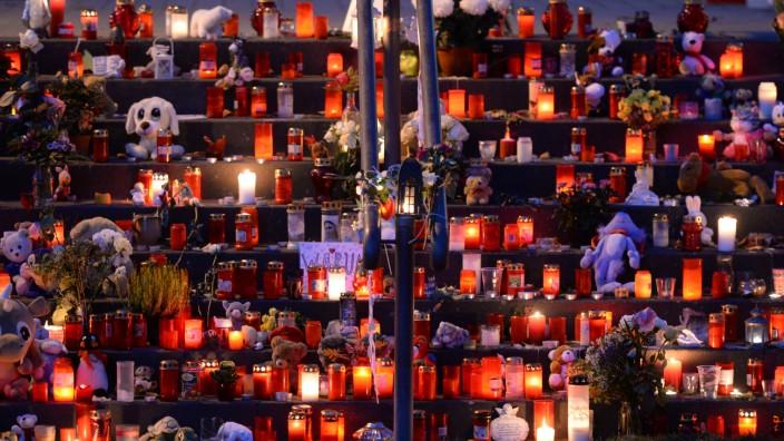 Gedenkfeier für ermordeten Elias