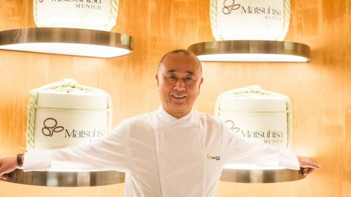 Restaurant Matsuhisa: Starkoch Nobu Matsuhisa Mandarin im Oriental München