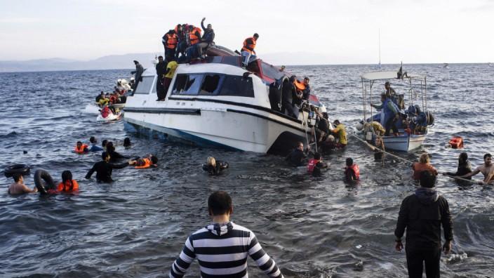 Psychische Erkrankungen bei Flüchtlingen: Flüchtlinge erleben auf ihrem Weg oft extreme Ereignisse, die posttraumatische Belastungsstörungen auslösen können.