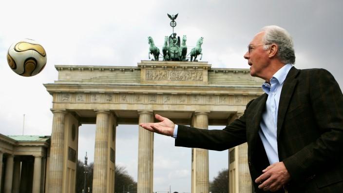 Franz Beckenbauer Launches FIFA Worldcup 2006 Final ball