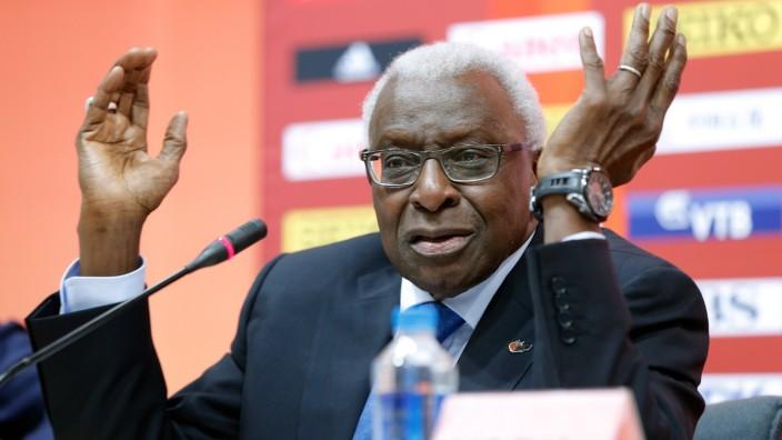 (FILE) Lamine Diack Under Investigation For Corruption