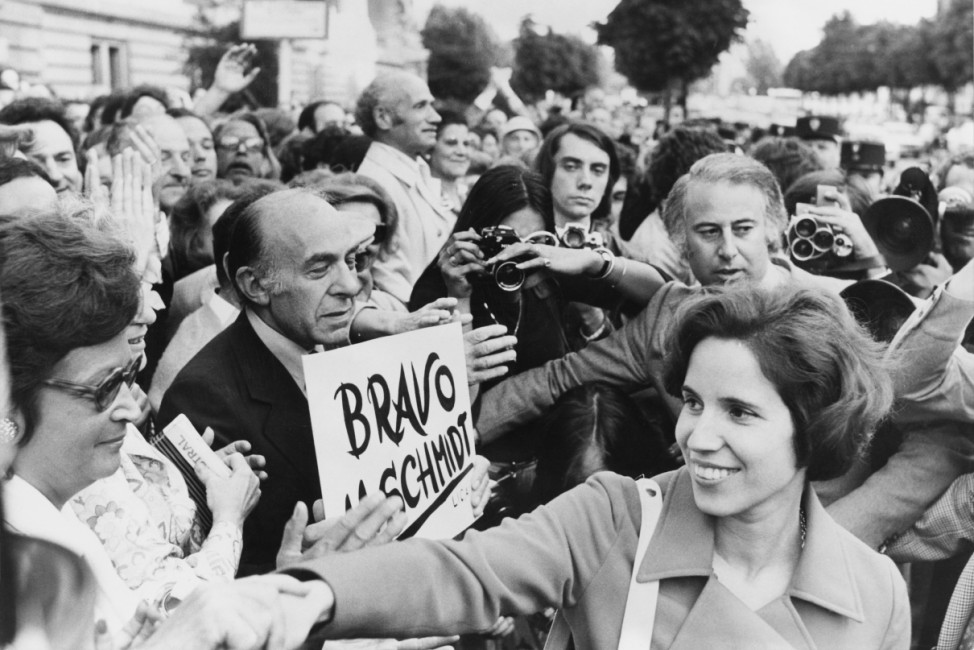 Klarsfeld And Supporters