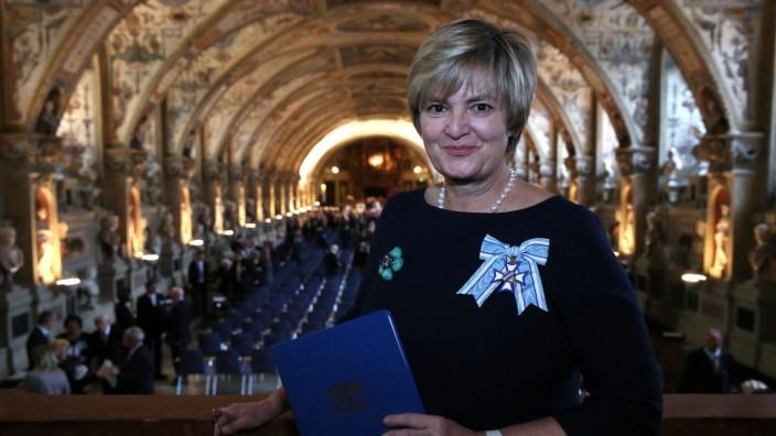 Gloria von Thurn und Taxis erhält Bayerischen Verdienstorden, 2014