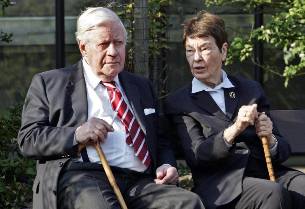 Helmut Schmidt wird 90