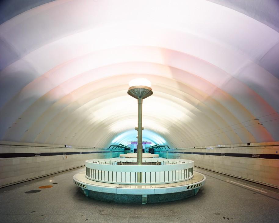 "Station ""Sportivnaya"", St. Petersburg, Russland"