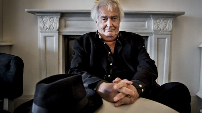 Swedish author Henning Mankell poses for photographs in Stockholm,