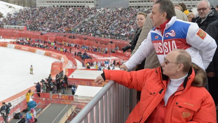 Vladimir Putin, Vitaly Mutko