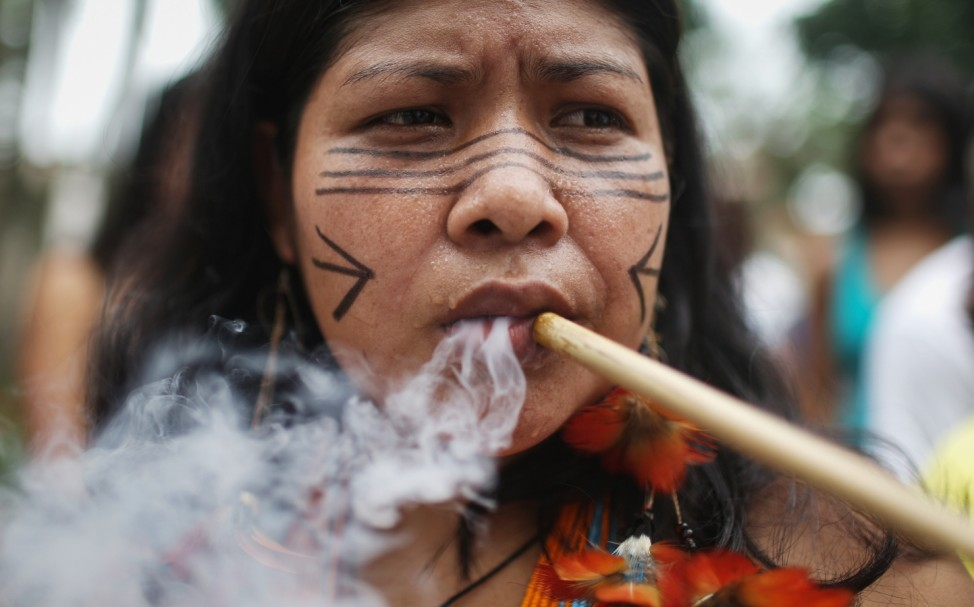 Indigenous Tribes March For Territorial Rights