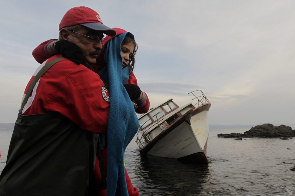 Refugees crisis in Greece