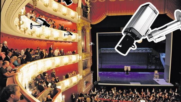 Mögliche Ziele von Terrorismus: Das Nationaltheater in München.