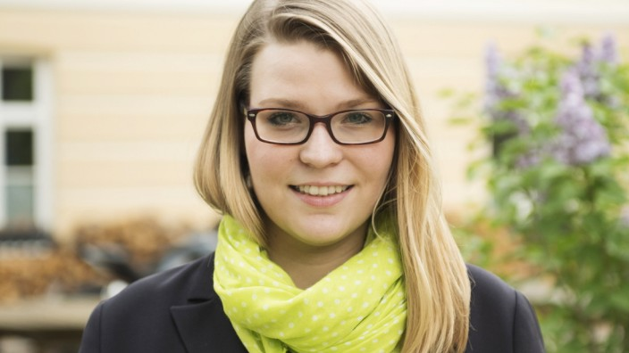 JU-Landesgeschäftsführerin Nicola Gehringer