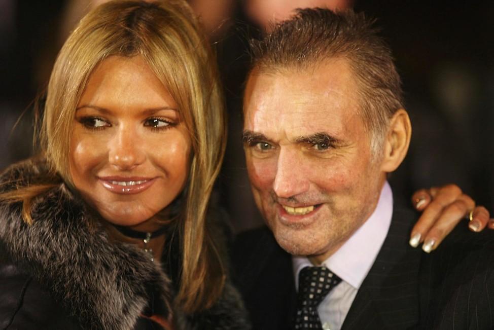 George Best und Ehefrau Alex, 2002