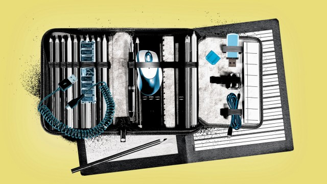 Kinder und Technik: Illustration: Stefan Dimitrov