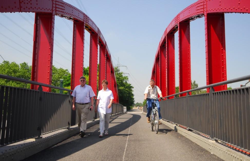 """Radschnellweg RS1: ehemalige Güterbahntrasse """"Rheinische Bahn"""" zwischen Essen und Duisburg"""