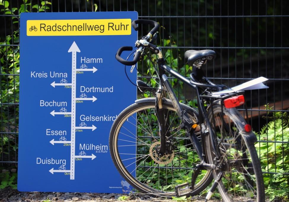 Radschnellweg Ruhr in Essen