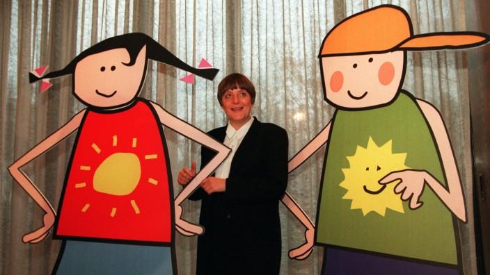 Umweltministerin Merkel stellt 'Bille' und 'Henning' vor