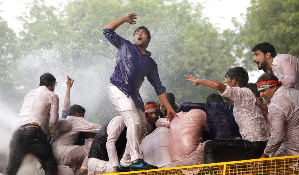 India protest against the rising intolerance and recent  communal