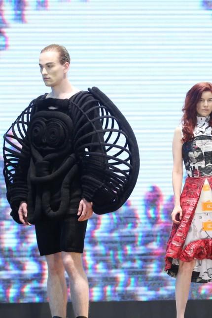 GSMA-360Fashion & Tech Runway Show 2014 kicks off in Shanghai