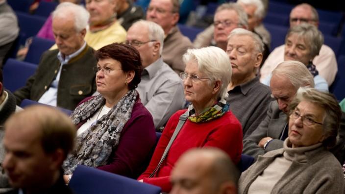Germering: Bürgerversammlung in der Stadthalle