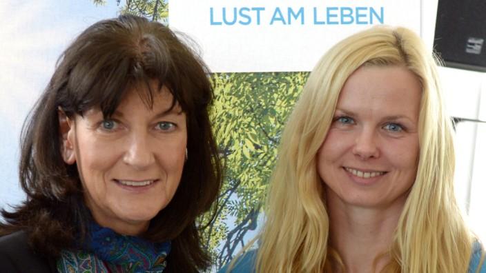 Britta Steffen und Christa Thiel