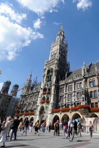 Der Münchner Marienplatz