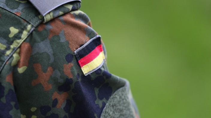 Schießübung bei der Bundeswehr