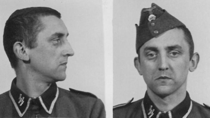 Auschwitz-Verfahren in Neubrandenburg: Unterscharführer Hubert Zafke in seiner SS-Uniform