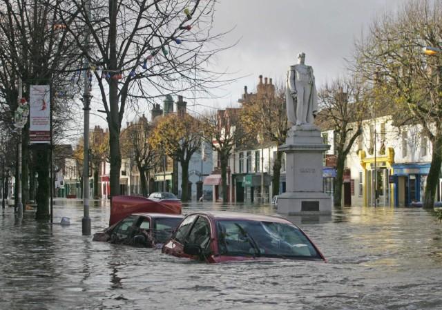 Überschwemmungen in Großbritannien