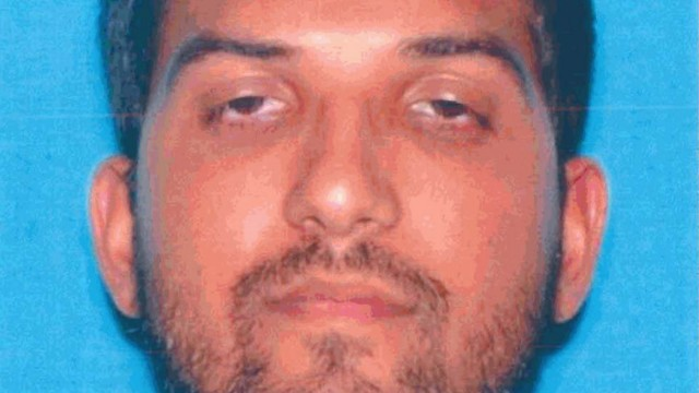 Syed Rizwan Farook is pictured in his California driver's license