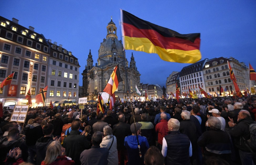 Germany Anti-Islam Protests; pegida
