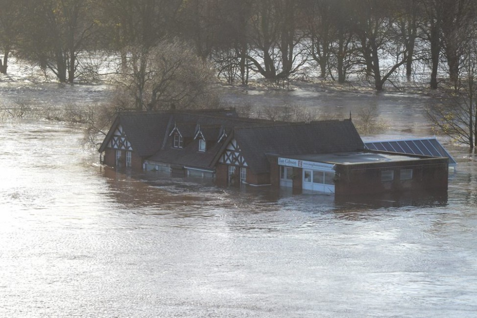 Storm Desmond causes floods, evacuations in Britain's north-west