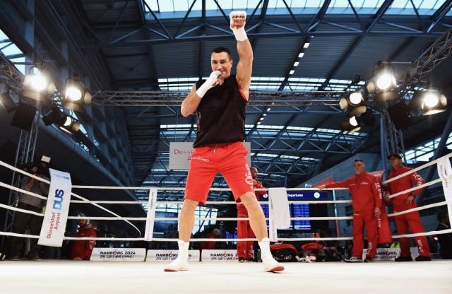***BESTPIX*** Wladimir Klitschko v Tyson Fury - Media Training Session