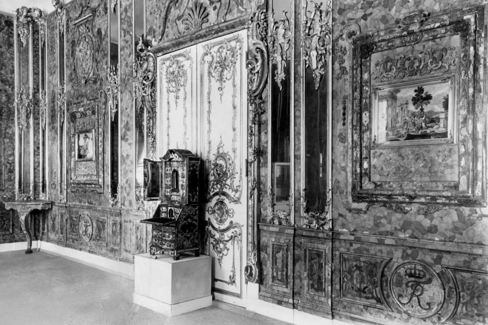 Bernsteinzimmer im Schloss von Königsberg 1942
