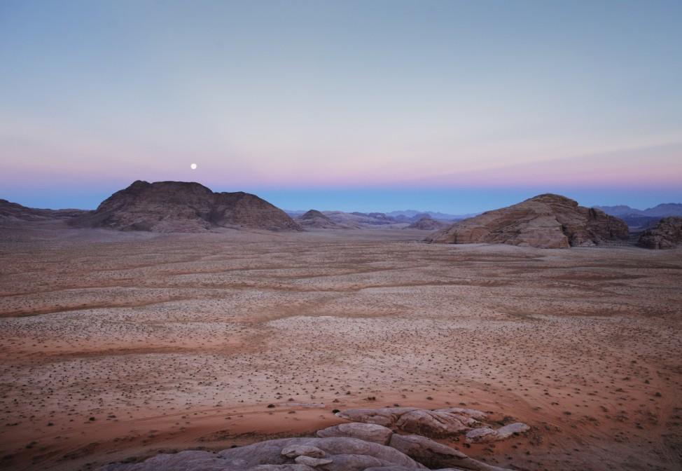 Scenes of Wadi Rum; reise