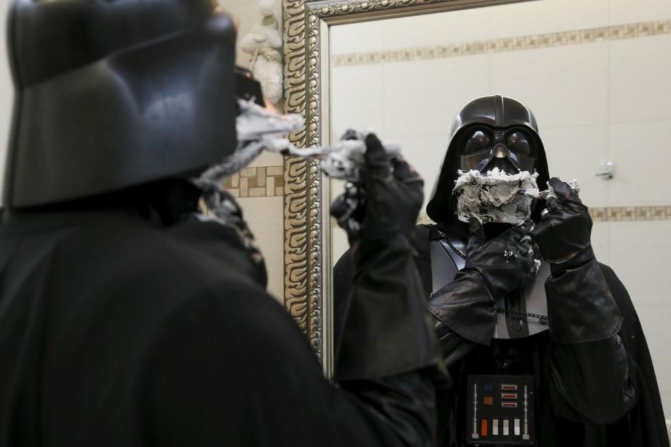 The Wider Image: Ukraine: Being Darth Vader