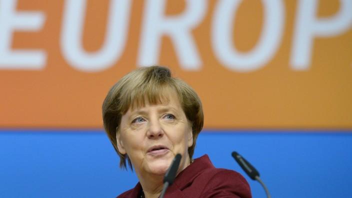 Ihr Forum: Angela Merkel macht deutlich, dass sie ihren prinzipiellen Kurs nicht ändert und eine feste Obergrenze weiterhin ablehnt.