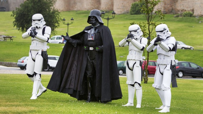 Star Wars film saga 40th anniversary exhibit