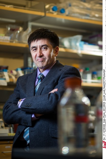 Shoukhrat Mitalipov has developed a procedure to help women conceive without passing on their genetic defects.
