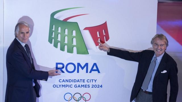 olosseum logo unveiled for Rome's 2024 Olympics bid