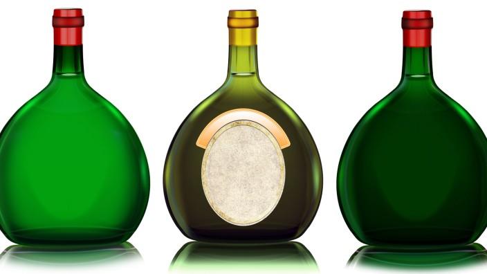 Boxbeutel Rotwein Weißwein Illustration ibxvnh04051165 jpg