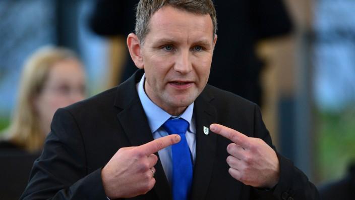 Thüringer Landtag - Björn Höcke