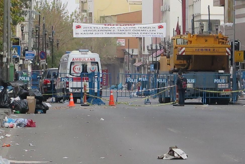 Zerstörungen in der Türkei