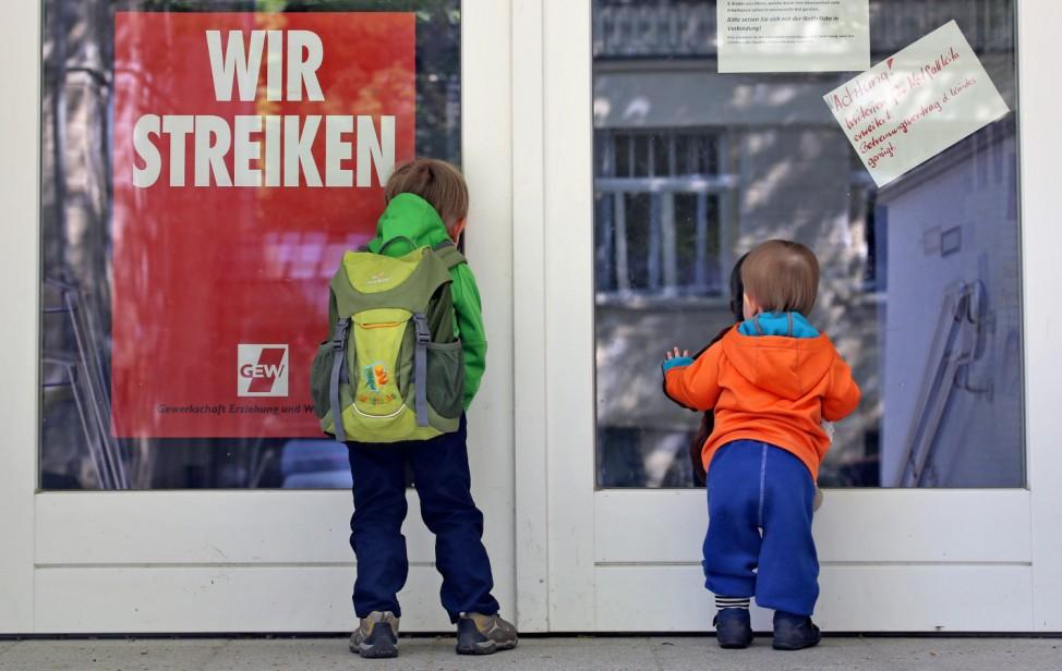 Kita-Streiks in Sachsen werden fortgesetzt
