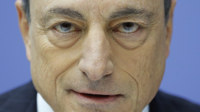 Europäische Zentralbank: EZB-Chef Mario Draghi.